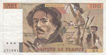 France 100 Francs Delacroix 1978 - Série H.4