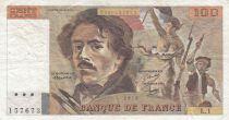 France 100 Francs Delacroix 1978 - Série L.1