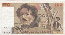 France 100 Francs Delacroix 1978 - Série P.4
