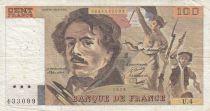 France 100 Francs Delacroix 1978 - Série U.4