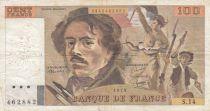 France 100 Francs Delacroix 1979 - Série S.14