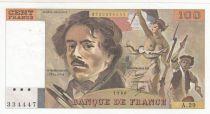 France 100 Francs Delacroix 1980 - Série A.29