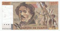 France 100 Francs Delacroix 1980 - Série C.39