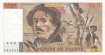 France 100 Francs Delacroix 1980 - Série Y.26