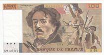 France 100 Francs Delacroix 1982 - Série K.59