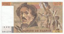 France 100 Francs Delacroix 1982 - Série L.56