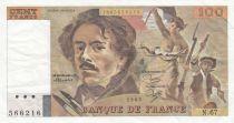 France 100 Francs Delacroix 1983 - Série E.67