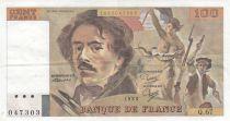 France 100 Francs Delacroix 1983 - Série Q.67