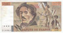 France 100 Francs Delacroix 1985 - Serial S.97