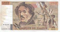 France 100 Francs Delacroix 1985 - Série H.91