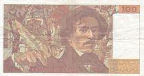 France 100 Francs Delacroix 1991 - Série H.205