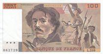 France 100 Francs Delacroix 1993 - Série L.238
