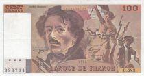 France 100 Francs Delacroix 1994 - Série D.282