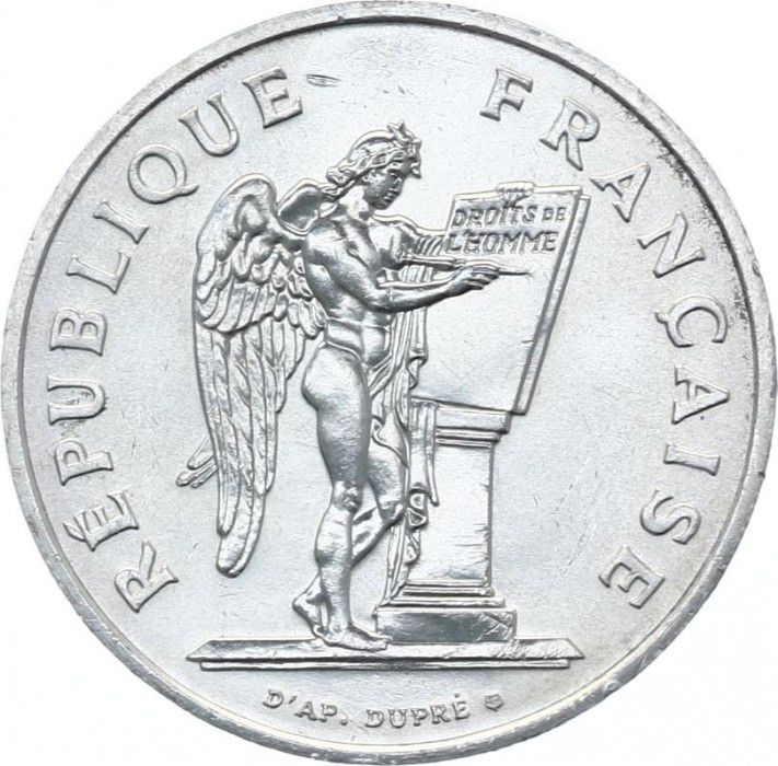 France 100 Francs Droits de l´Homme - 1989