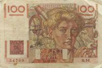 France 100 Francs Farmer - 07-11-1945 - Série Q.16 - F