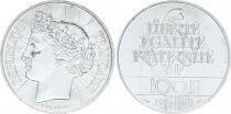 France 100 Francs Fraternity - 1988