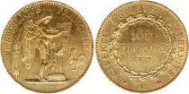 France 100 Francs Génie - 1879 A - Ancre non barré - OR