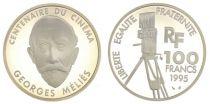 France 100 Francs Georges Mélies - Centenaire du Cinéma - 1995