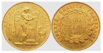 France 100 Francs Gold Genius - 1886 A Paris