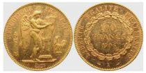 France 100 Francs Gold Genius - 1906 A Paris