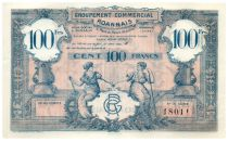 France 100 Francs Groupement Commercial Roannais - 1945 - SUP