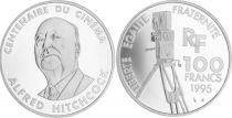France 100 Francs Hitchcock - 100 years of Cinema - 1995 Proof