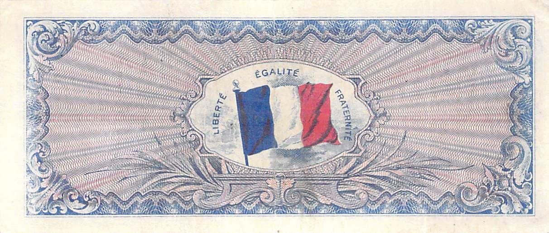 France 100 Francs Impr. américaine (Drapeau) - 1944 - Sans Série - TTB