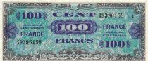 France 100 Francs Impr. américaine (drapeau) - 1944 - Série 2
