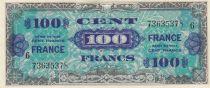 France 100 Francs Impr. américaine (drapeau) - 1944 - Série 6