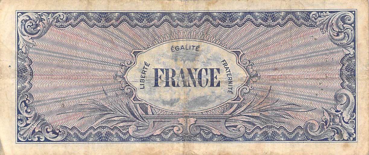France 100 Francs Impr. américaine (France) - 1945 Sans Série - TB