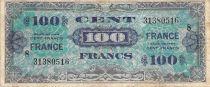 France 100 Francs Impr. américaine (France) - 1945 Série 8 - TB