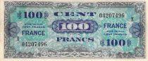 France 100 Francs Impr. américaine (France) - 1945 Série grand X - TB+