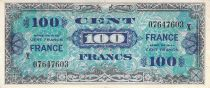 France 100 Francs Impr. américaine (France) - 1945 Série grand X - TTB