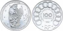 France 100 Francs Jean Monnet - 1992