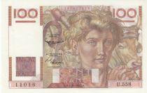 France 100 Francs Jeune Paysan - 01-10-1953 - Filigrane inversé