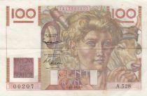 France 100 Francs Jeune Paysan - 02-01-1953 - Série A.528