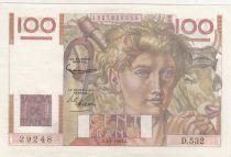 France 100 Francs Jeune Paysan - 02-01-1953 - Série D.532