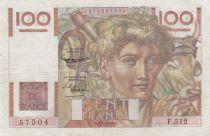 France 100 Francs Jeune Paysan - 02-01-1953 - Série F.512