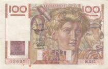 France 100 Francs Jeune Paysan - 02-01-1953 - Série N.531