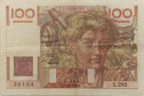 France 100 Francs Jeune Paysan - 02-12-1948 - Série L.285 - TTB