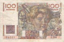 France 100 Francs Jeune Paysan - 02-12-1948 - Série Z.280 - PTB