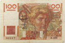 France 100 Francs Jeune Paysan - 03-04-1952 - Série H.456 - PTTB