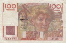 France 100 Francs Jeune Paysan - 03-04-1952 - Série M.455