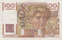 France 100 Francs Jeune Paysan - 03-04-1952 - Série R.443