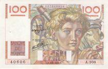 France 100 Francs Jeune Paysan - 03-10-1946 - Série A.108 - SUP