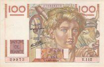 France 100 Francs Jeune Paysan - 03-10-1946 - Série V.112 - SUP