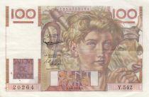 France 100 Francs Jeune Paysan - 04-06-1953 - Série Y.542