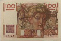 France 100 Francs Jeune Paysan - 05-02-1953 - Série P.533 - SUP+