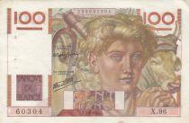France 100 Francs Jeune Paysan - 05-09-1946 - Série X.87