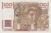 France 100 Francs Jeune Paysan - 06-09-1951 - Série H.405